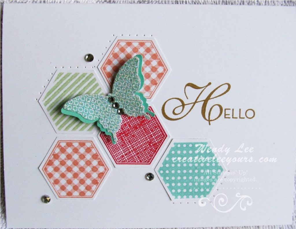Hexagon Butterflies