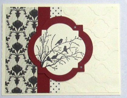Serene Silhouettes Card