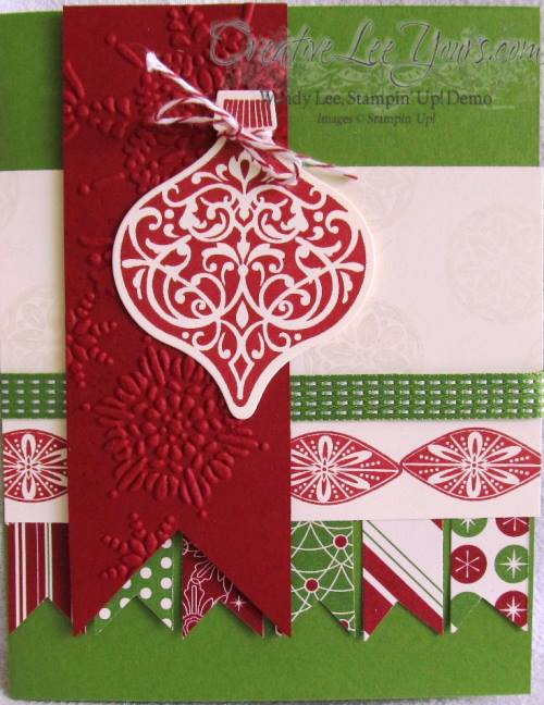 Red Ornament Card