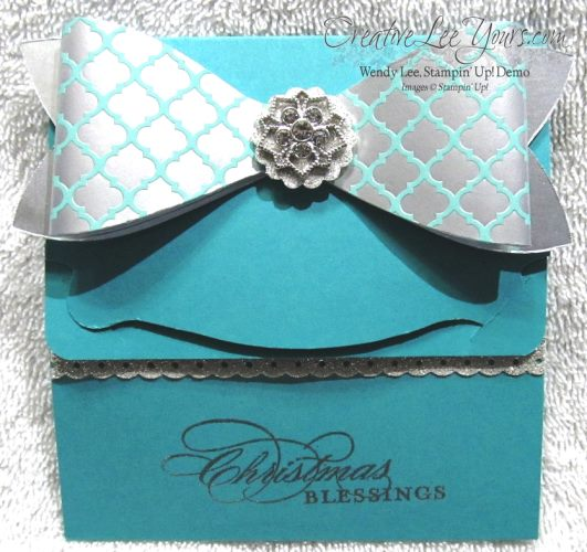 SU Gift Bow Die Gift Card Holder