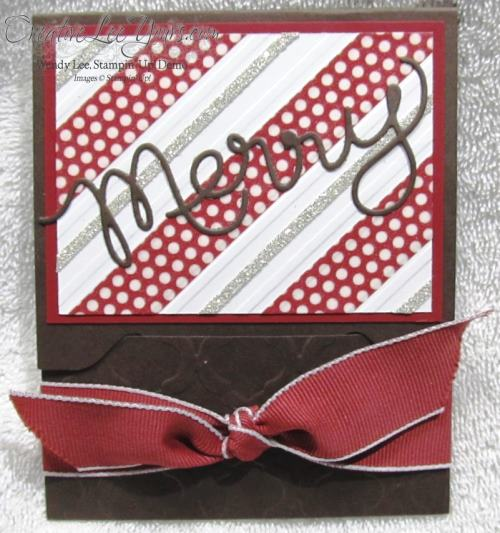 Expressions Framelits Gift Card Holder