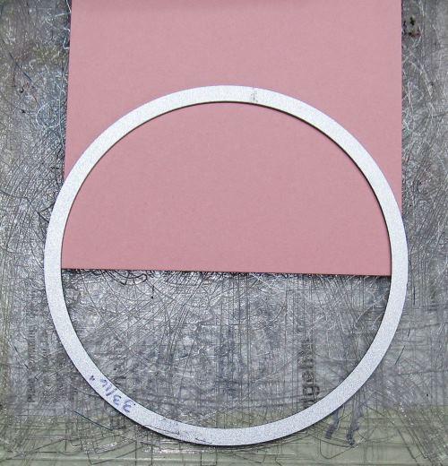 cut 1/2 circle
