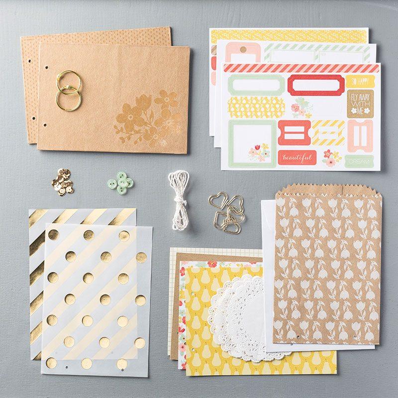mini memories scrapbooking kit