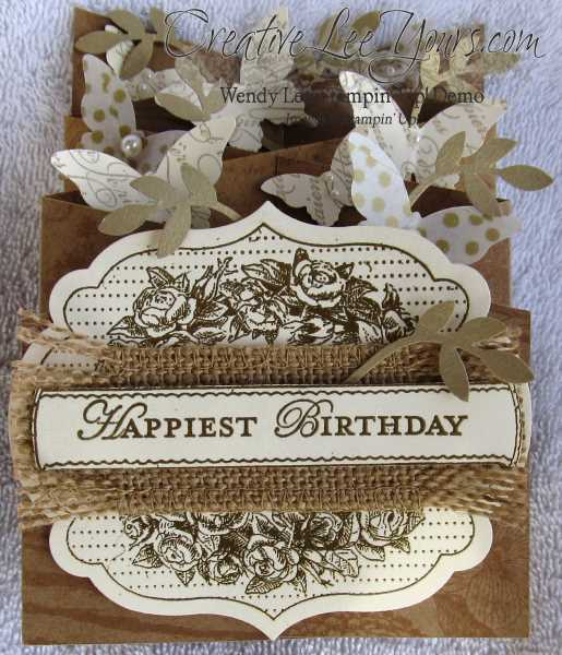 cascading birthday card