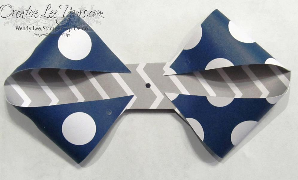 June 2014 Paper Pumpkin Bow