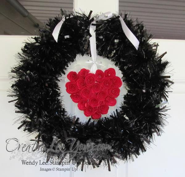 valentine wreath option