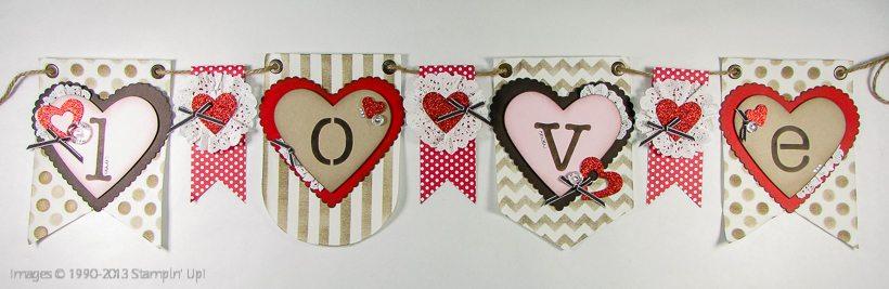love embellishment kit