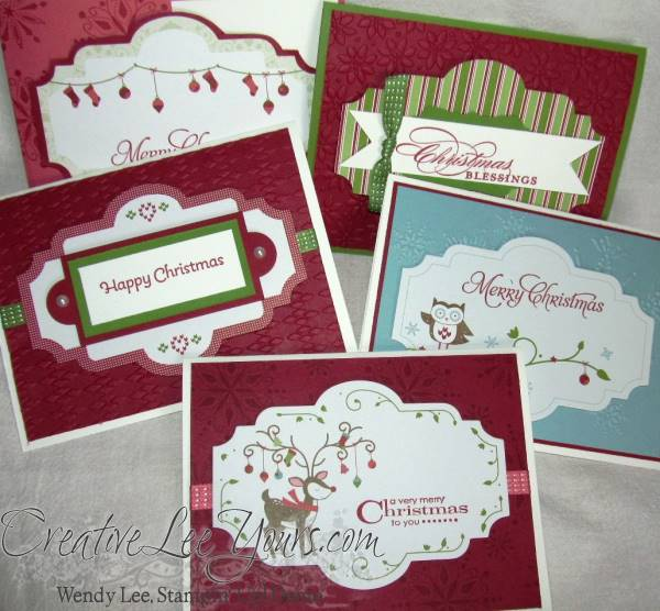 snow festival designer printed tags, SU cards, Christmas,