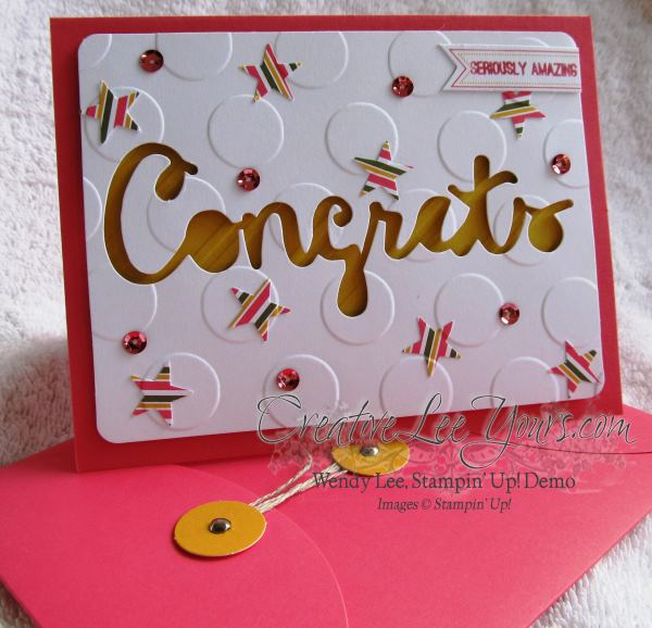 August 2014 Paper Pumpkin Kit - Simply Amazing congrats