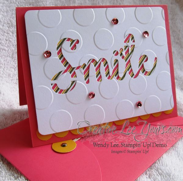 August 2014 Paper Pumpkin Kit - Simply Amazing Smile