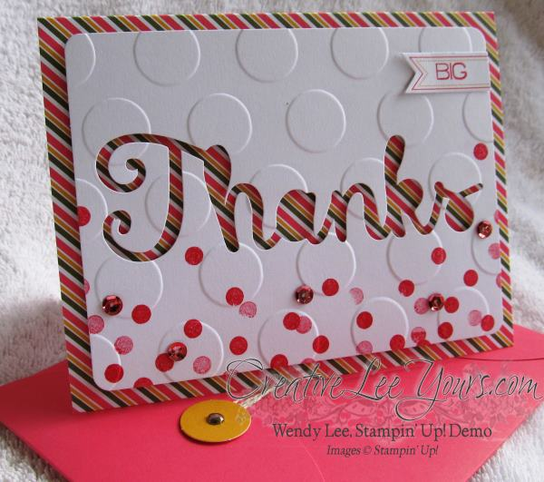 August 2014 Paper Pumpkin Kit - Simply Amazing thanks