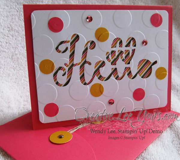 August 2014 Paper Pumpkin Kit - Simply Amazing hello