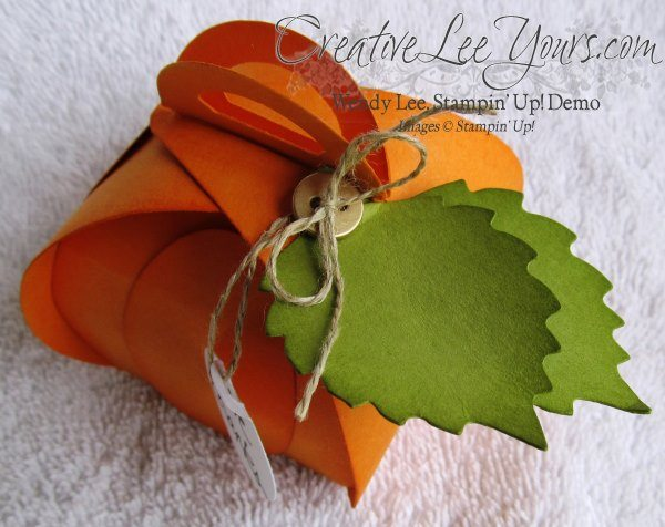 curvy keepsake die, pumpkin, SU, good greetings