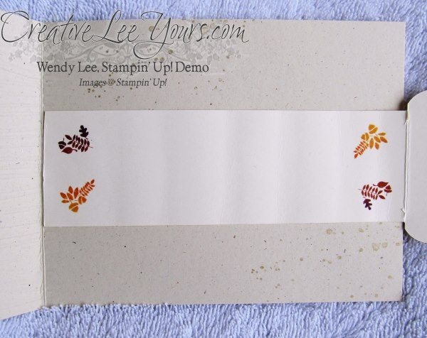 by wendy lee, Seasonally scattered, thanks, fall, SU cards
