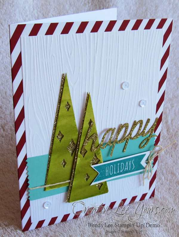 Watercolor Winter Card Class by Wendy Lee, #creativeleeyours