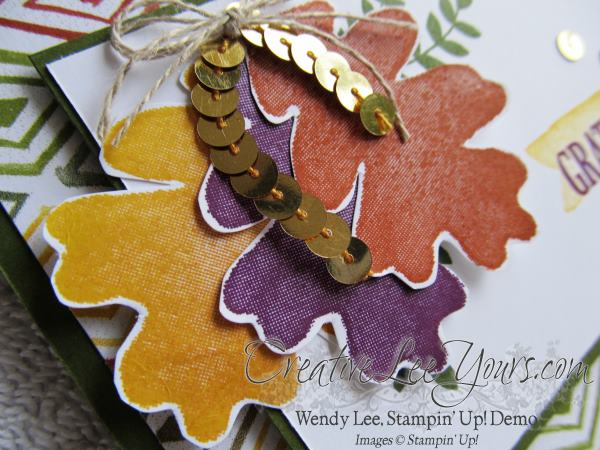 For all things fall grateful card by Wendy Lee