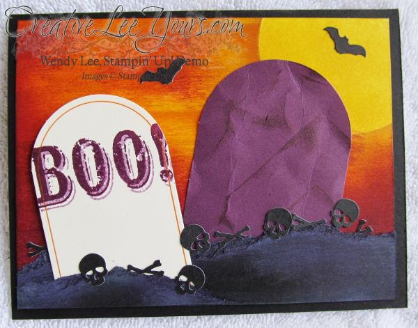 Sept 2014 Paper Pumpkin by Wendy Lee, Halloween card