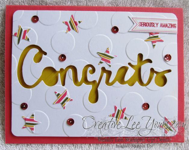 August 2014 Paper Pumpkin Kit - Simply Amazing congrats