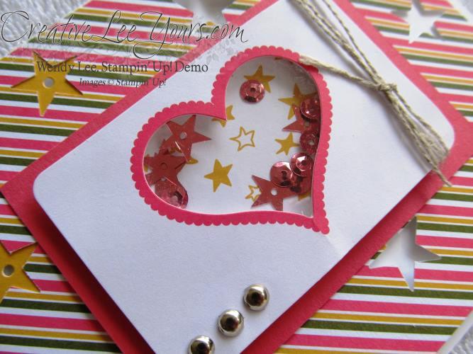 August 2014 Paper Pumpkin Kit - Simply Amazing heart shaker