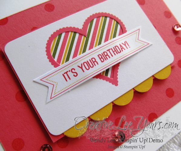 August 2014 Paper Pumpkin Kit - Simply Amazing heart birthday