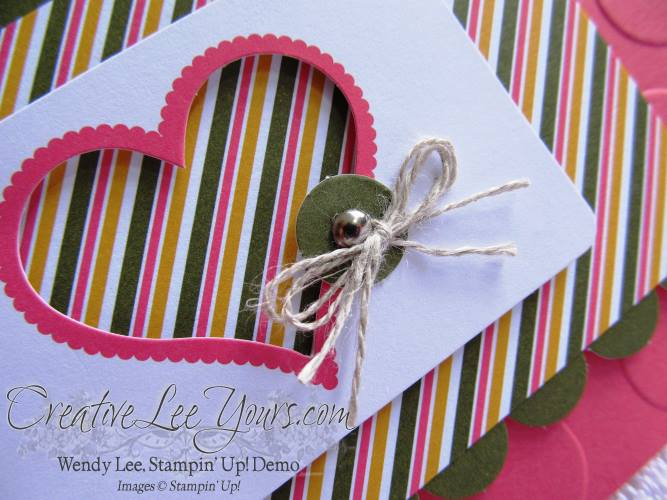 August 2014 Paper Pumpkin Kit - Simply Amazing heart