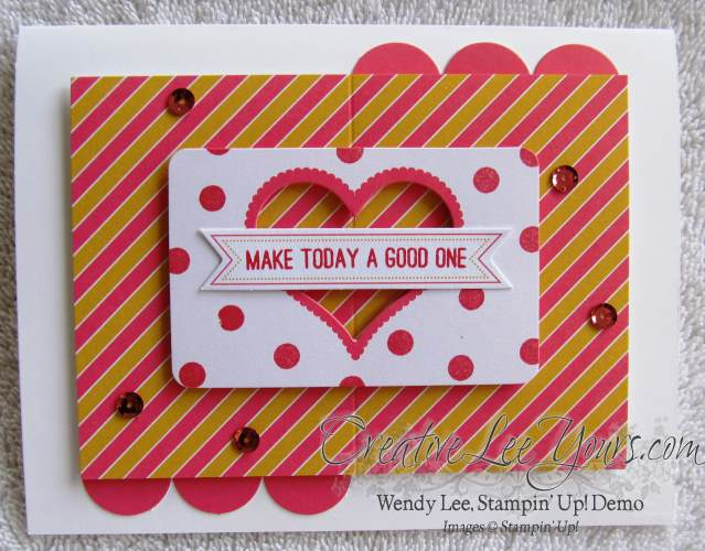 August 2014 Paper Pumpkin Kit - Simply Amazing good day