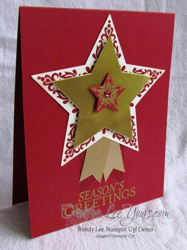 Merry & Bright Seasons Greetings by Wendy Lee