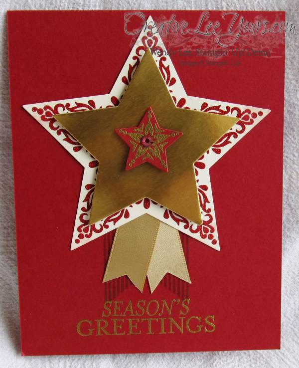 Merry & Bright Seasons Greetings by Wendy Lee