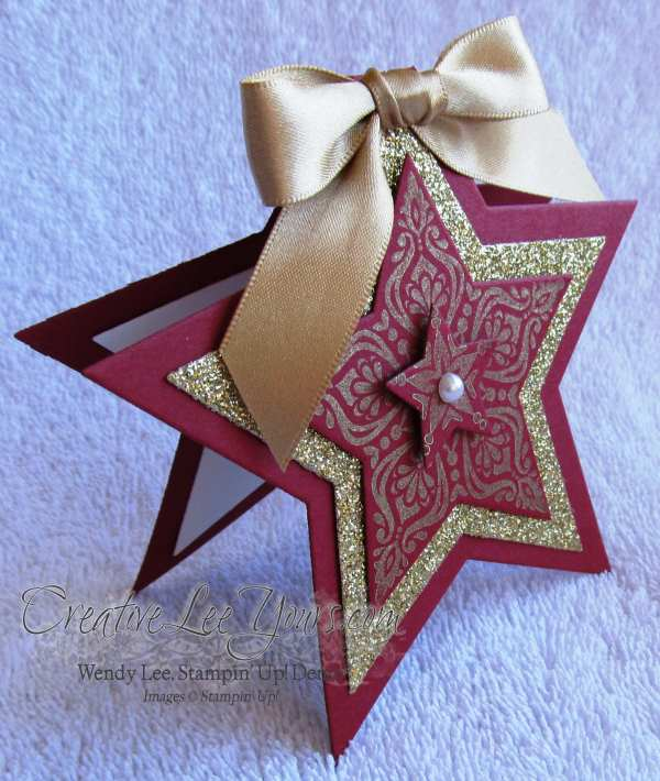 Merry & Bright Christmas Star by Wendy Lee