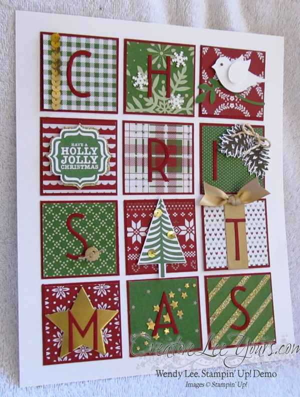 Trim the Tree Wall Art by Wendy Lee