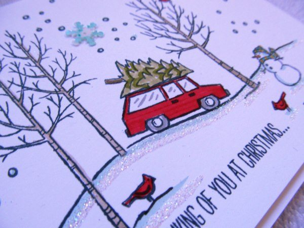 White Christmas, creativeleeyours, Stampin' Up!