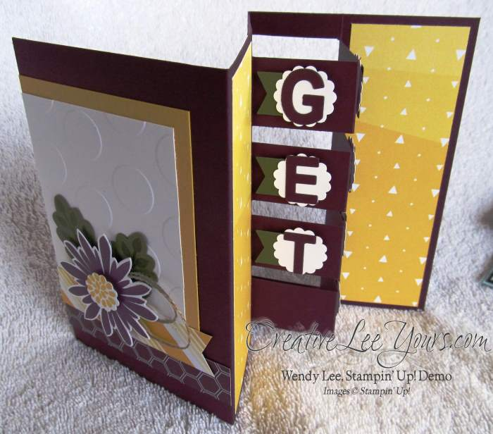 Get Well Block Card by Wendy Lee, #creativeleeyours, Stampin Up