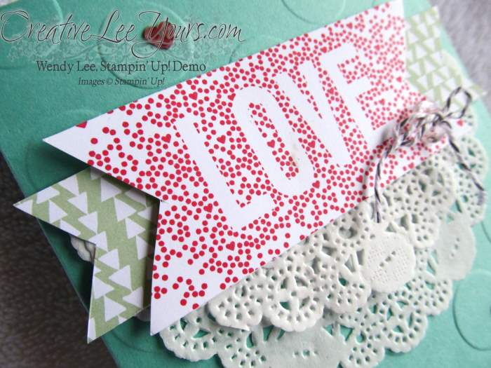 Seasonally Scattered Love by Wendy Lee, #creativeleeyours, Stampin' Up!, Valentine,cards