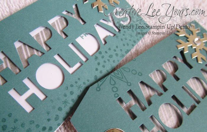Nov 2014 Simply Snowflake Paper Pumpkin kit by Wendy Lee,#creativeleeyours, Stampin' Up!, Christmas Cards