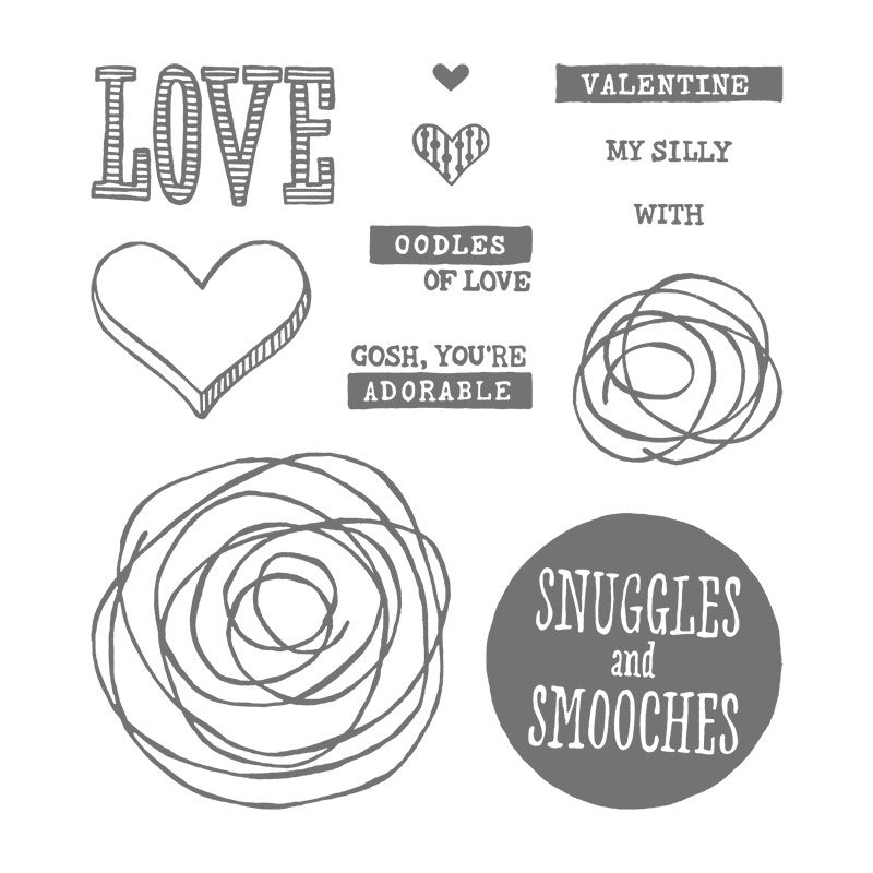 snuggles & smooches stamp set
