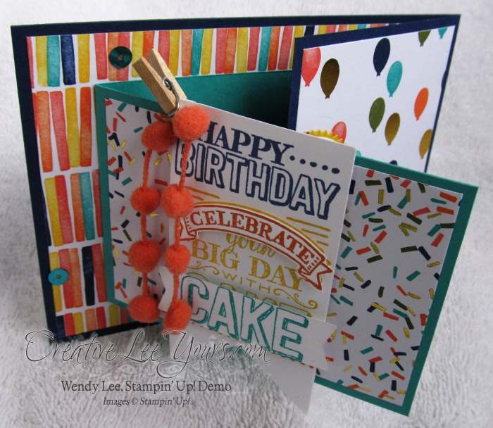 Big Day Birthday by Wendy Lee, #creativeleeyours, Stampin' Up!, #SAB2015