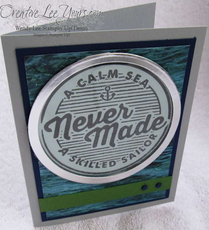 Adventure Awaits by Stephanie Daniel, #creativeleeyours, Stampin' Up!, Masculine Card