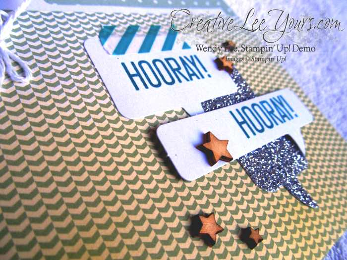 Hooray It's Your Day Class by Wendy Lee, #creativeleeyours, Stanpin' Up!, birtday cards