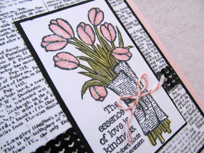 Love is Kindness by Amanda Coughlin, #creativeleeyours, Stampin' Up!