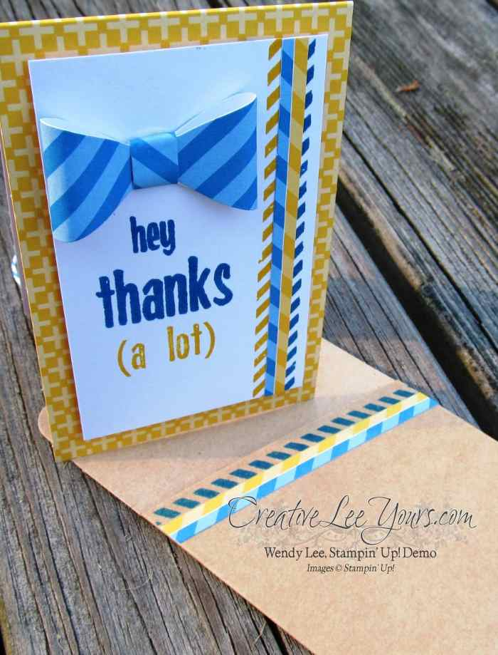 April 2015 Love You A Lot Paper Pumpkin Kit by Wendy Lee, #creativeleeyours, Stampin' Up