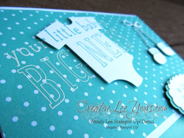 Welcome Baby by Sheila Tatum, #creativeleeyours, Diemonds team meeting, Stampin' Up!, Something for Baby stamp set