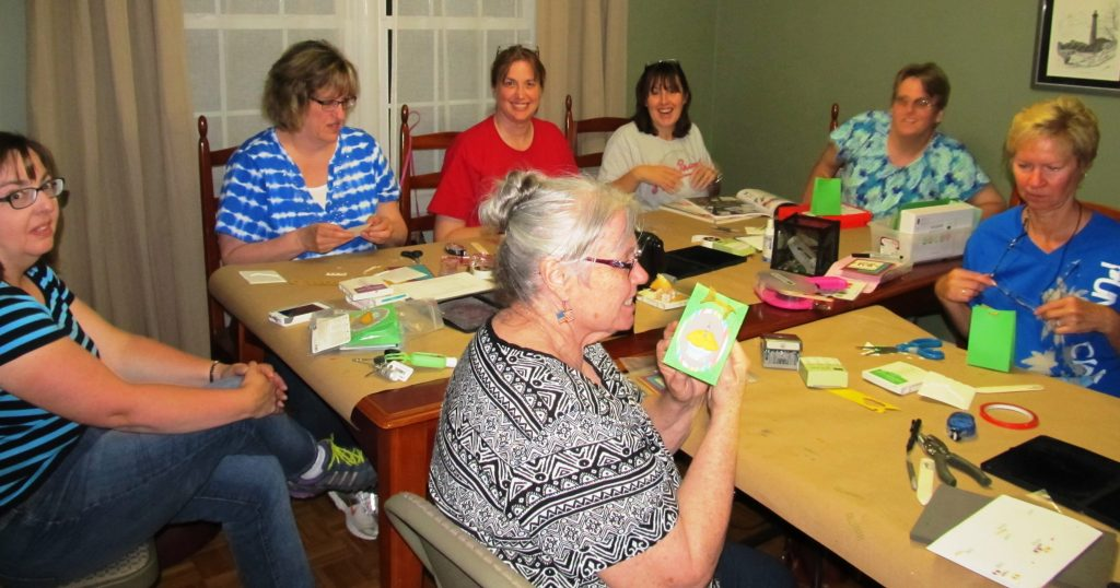 #creativeleeyours, diemonds team meeting, stampin' up!, RMHC