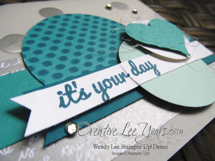 Happy Thoughts by Wendy Lee, #creativeleeyours, Open house Paper Pumpkin bonus card,Stampin' Up!