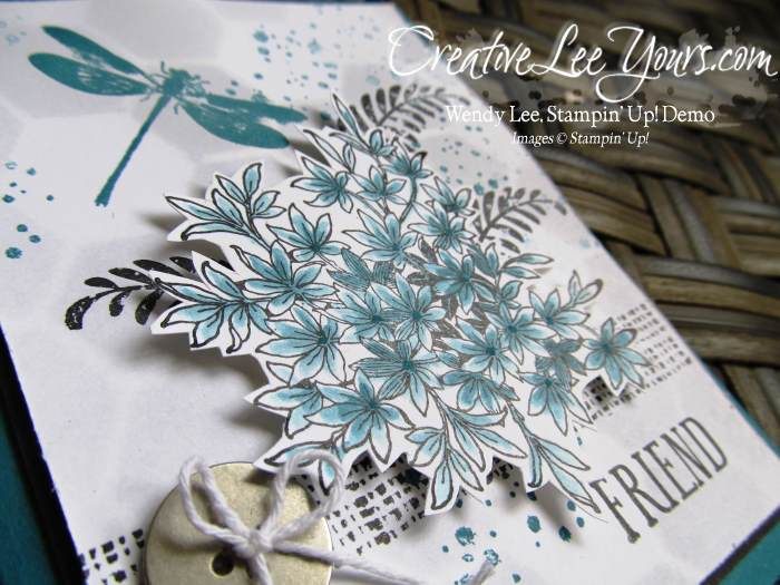 Awesomely Artistic Friend by wendy lee, #creativeleeyours, Stampin' Up!, FMN July 2015
