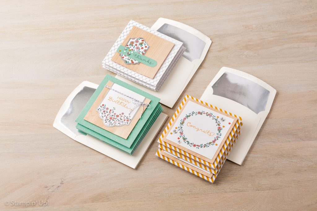 cottage greeting card kit