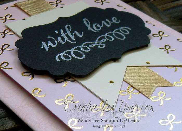 August 2015 Paper Pumpkin Kit- Chalk It Up To Love by Wendy Lee, #creativeleeyours, Stampin' Up!