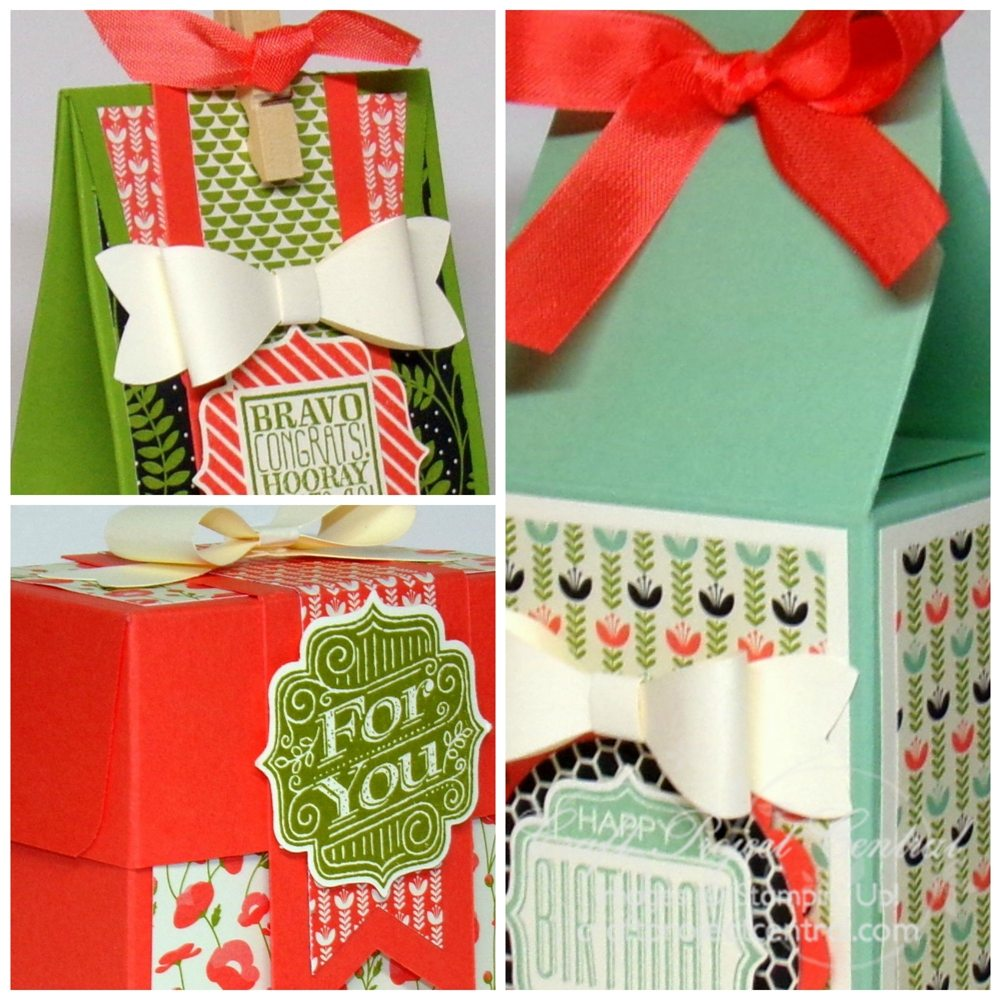Gift Bag Punch Board Creations SP