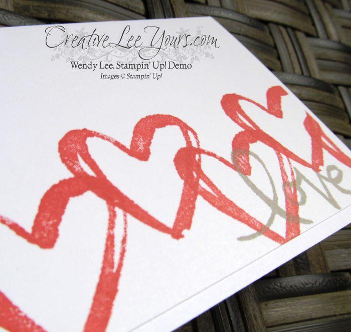 Watercolor Words by Jennifer Harrell, #creativeleeyours, Stampin' Up!, Diemonds team swap