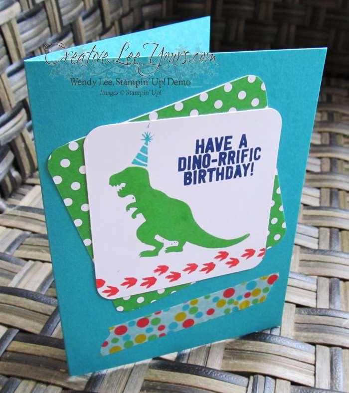 No Bones About it Birthday by Jennifer Moretz, #creativeleeyours, Stampin' Up!, Diemonds team swap