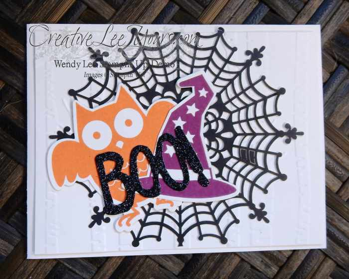Howl-a-ween Treat Diemonds Swap, #creativeleeyours, Stampin' Up!